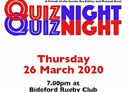 Quiz Night - Cancelled due to COVID-19